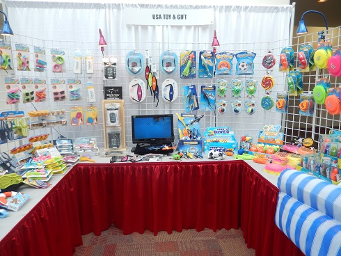 Grand Strand Gift and Resort Merchandise Show Vendor USA Pool Toy and Gift